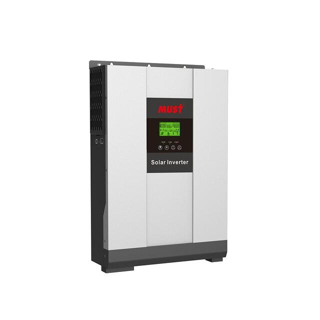 5000 واط MPPT الشمسية الهجين عاكس الطاقة 5KW on/off شبكة التعادل نظام PV مع تخزين الطاقة DC48V PH18 5048 زائد