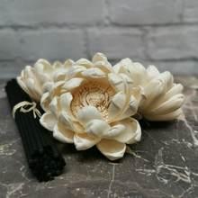 """36 шт 32 """"sola деревянный цветок с 65"""" черные волокна"""