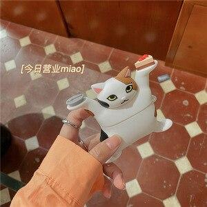 Image 5 - 3D תוספות חתול רך אוזניות מקרה עבור Airpods 3 2 1 פרו אלחוטי טעינה תיק קריקטורה כיף חמוד מגן כיסוי