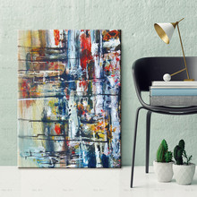 Picture Abstract Canvas Painting Poster Print For Living Room Aisle Entrance Modern Wall Art Decor printed abstract graphics psychedelic nebula space painting canvas print decor print poster picture canvas free shipping ny 5746