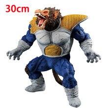30cm Dragon Ball Super Saiyan Vegeta Ape figurki Dragon Ball Super Goku Vegeta pcv figurka zabawki modele