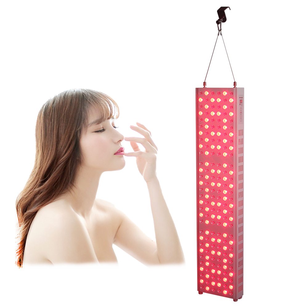 LED Facial Mask Therapy Machine With Time 850nm 660nm Photon Therapy Light Skin Care Wrinkle Acne Removal Beauty For Home Use