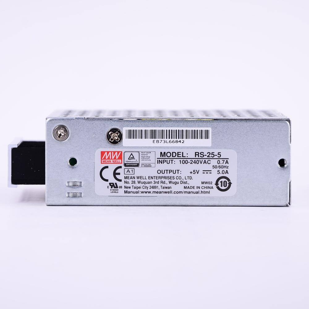 Image 2 - Mean Well RS 25 5 AC/DC 25W/5A/5V Single Output Switching Power Supply meanwell online storeSwitching Power Supply   -