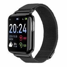 ECG PPG Smart Watch with Electrocardiograph ECG Display Heart Rate Blood Pressure Monitor Waterproof Smartwatch Men Women