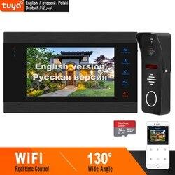 Homefong 7 Pollici Wifi Video Citofono Smart Video Telefono Del Portello Del Sistema di Ampio Angolo di Porta Camere Motion Detect in Tempo Reale di Controllo da telefono