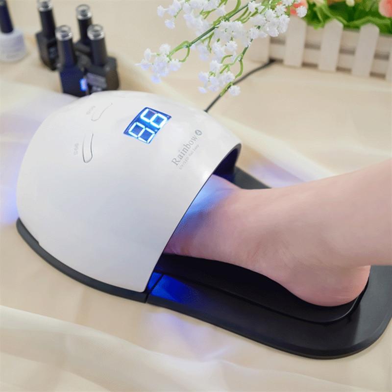 Fabricants transfrontaliers vente directe nouveau Style lampe chaude pieds double usage 48W lampe chaude photothérapie lampe LED pour ongles UV zhi ji