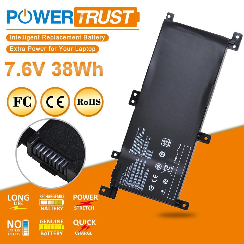 New Notebook Battery C21N1509 For ASUS X556UA X556UB X556UF X556UJ X556UQ X556UR X556UV A556U FL5900U
