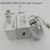 XIAOMI-adaptador de corriente de carga rápida para móvil, Cable Micro Usb de 10W, 5V2A, para Redmi 7, 7A, 6, 6A, 5, 5A, 5s Plus, 8, 8A, Note 3, 4, 5, 6 Pro
