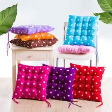 nice 40*40 Soft Sofa Cushion Moon Star Dot Print Seat Sofa Chair Pad Mat Office Bar Chair Pillow Home Decor(China)