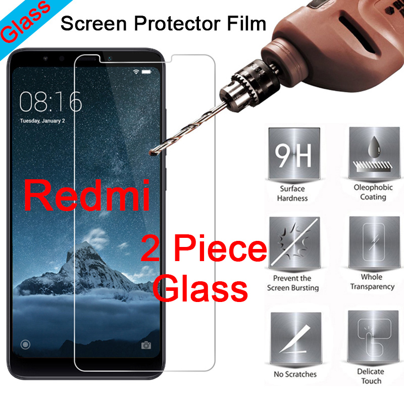 2PCS/Lot Phone Protective Film For Redmi 4X 4A 3X Tempered Glass Explosion-proof Screen Protector For Xiaomi Redmi 4 3 Pro 3S 2