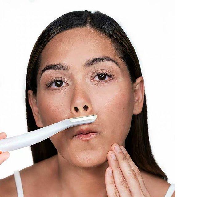 Multifunction Electric Shaver Woman Razor Facial LED Hair Removal Leg Underarms Epilator Nose Eyebrow Trimmer 5