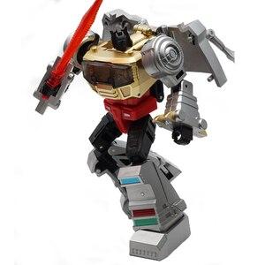 Image 5 - Transformacja dinozaurów metalowa farba Grimlock MF25 metalowa deformacja figurka transformator G1 zabawka