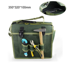 Thickened Multifunction Tool Bag 600D Oxford Fabric Tool Storage Bag Portable Electrician Household Shoulder Bag for Tool Repair laoa shoulders backpack tool bag multiction oxford fabric electrician bags knapsack for eletricista tools storage