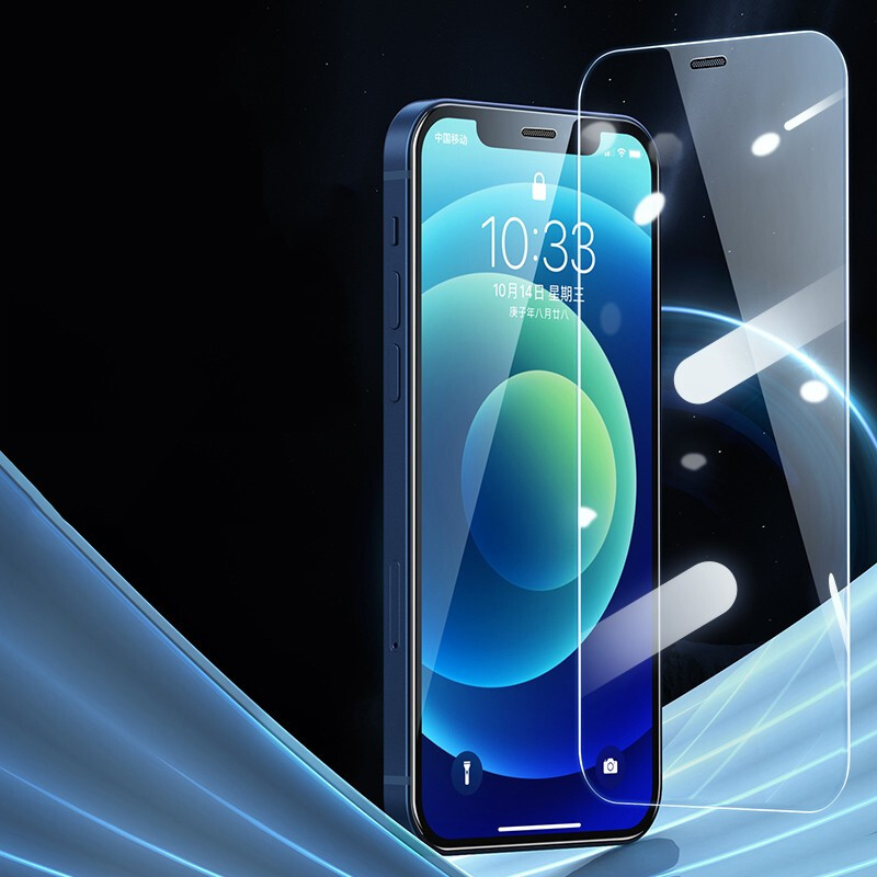 Ultra Thin Clear Tempered Glass For iPhone 12 Pro Max Screen Protector For iPhone 12 Mini 12 Pro 12 9H Film Protective Glass