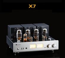 Muzishare X7 Push Pull Buizenversterker KT88 Dubbele Hoge Druk Gal Gelijkrichter Digitale Versterker GZ34 260W Phono Voorversterker