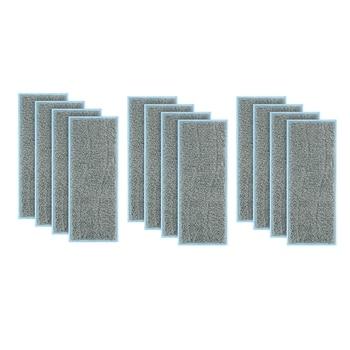 12 шт. ткань для чистки Аксессуары для IRobot Braava Jet M6 (6110) Wi-Fi подключенный робот-Швабра пылесос чистящая ткань IRobot