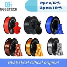 GEEETECH imprimante 3D, Filament, emballage sous vide, disponible dans une variété de couleurs, livraison rapide, 1kg, 1.75mm
