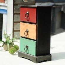 3 сетки винтажная проблемная деревянная коробка для хранения