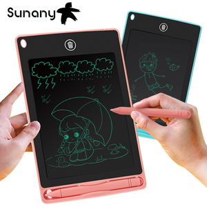 "Sunany drawing tablet 8.5"" lcd writing tablet electronics graphic board drawing pad Ultra Thin Portable Hand writing Gifts(China)"