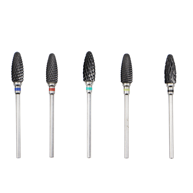 23 Type Tungsten Carbide Ceramic Nail Drill Bits For Electric Drill Manicure Accessory Rainbow Milling Cutter Nail Files 3