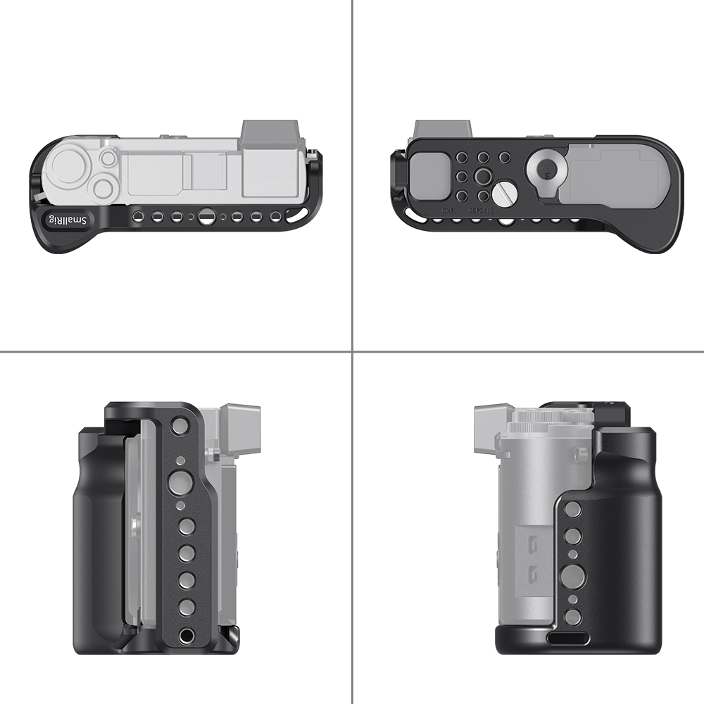 aluminum alloy SmallRig G9 Aluminum Alloy Cage for Panasonic G9 Cage With Arca Swiss Plate/Integreted Side Handgrip/NATO Rail-2411 (5)
