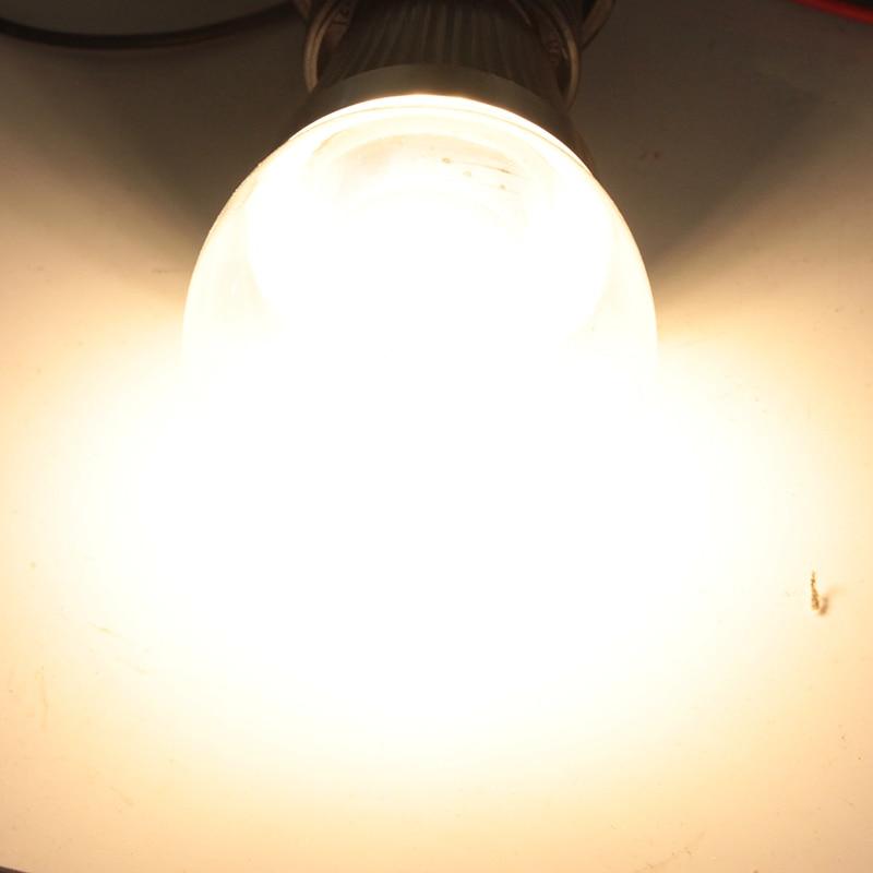 Купить с кэшбэком bombilla led e14 E27 B22 corn bulb glass Dc 10v to 60v low voltage 2835 8W 12 24 36 48 60 v volt A60 glass bubble ball spotlight