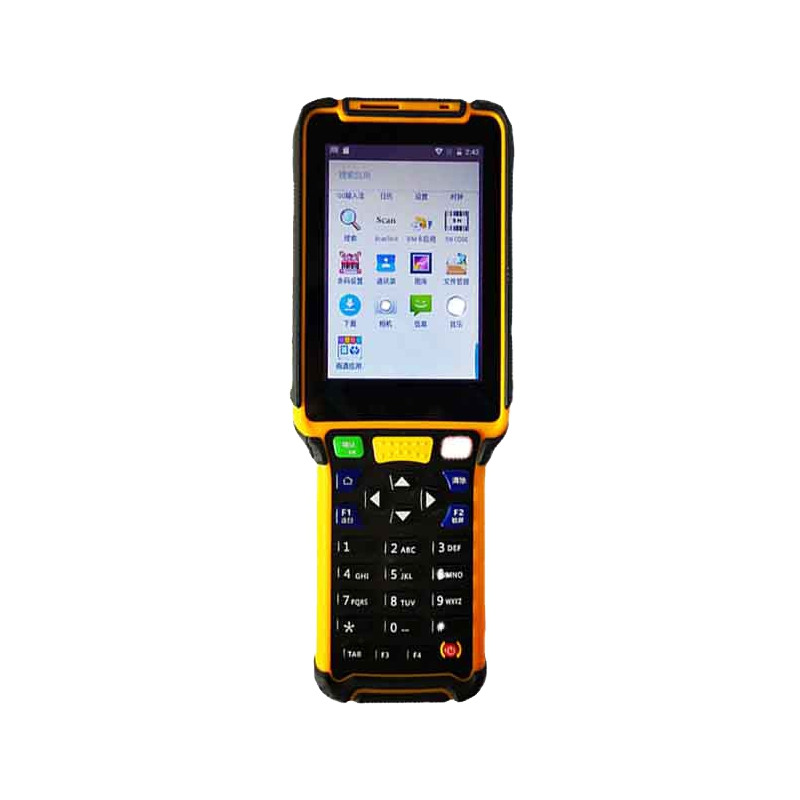 3.5 Inch Android 7.0 Full Key Keyboard RAM 2GB ROM 16GB Handheld Terminal With 2D Barcode Scanner