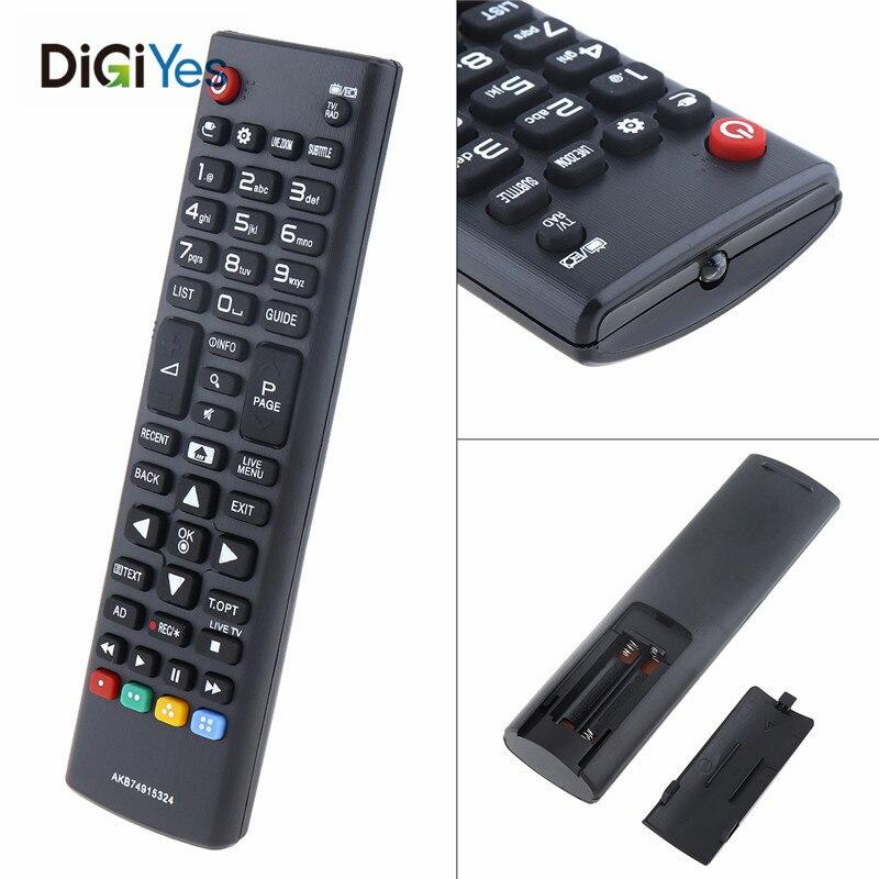Smart tv remoto contro ir akb74915324l apto para lg tv 43uh610v/50uh635v/32lh604v/40uh630v com longa distância de transmissão
