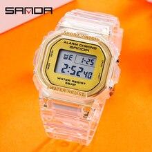 SANDA Hot Sell G style Sport Watch Multi-function Men's Waterproof Wrist