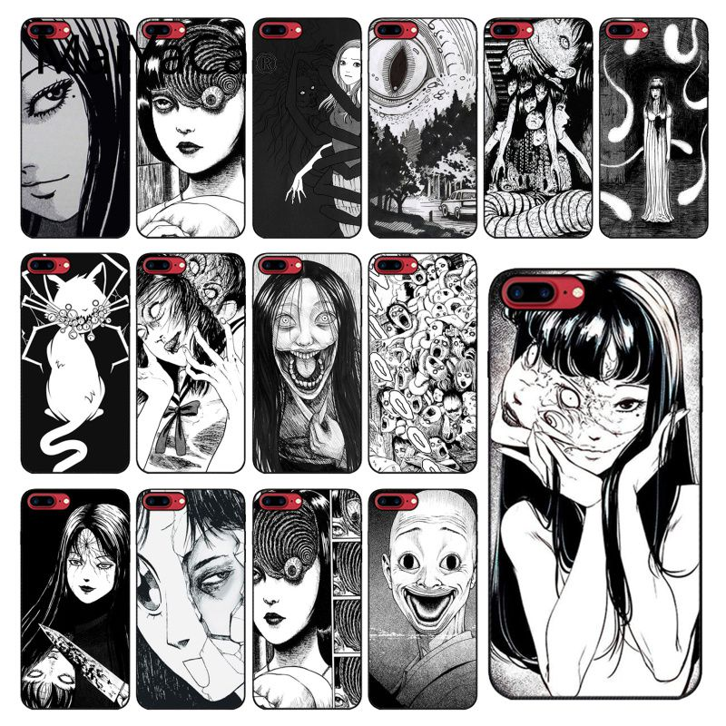 MaiYaCa Junji Ito Tees Horror TPU Soft Silicone Phone Case for iPhone 11 pro max 8 7 6 6S Plus X XS MAX 5 5S SE XR 10 Cover(China)