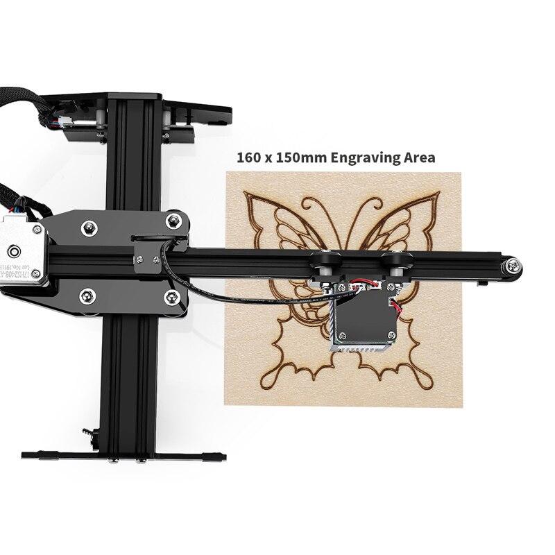 Ortur Laser MASTER 20W Machine de gravure 32 bits bricolage Laser graveur métal découpe 3D imprimante pour fenêtres avec Protection de sécurité - 2