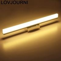 Arandela lâmpada do banheiro interior moderna decoração industrial lampara de luminaria led wandlamp aplique luz pared luminária parede luz|Luminárias de parede| |  -