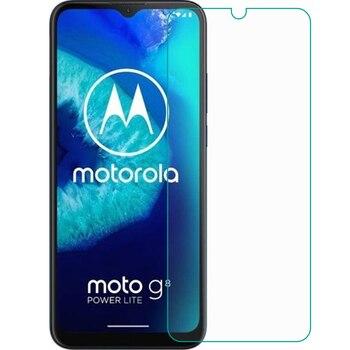 Перейти на Алиэкспресс и купить Закаленное стекло 9H для смартфона Motorola Moto G8 Power Lite, защитное стекло 6,5 дюйма, защитная пленка, чехол для телефона