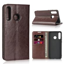 Natural Genuine Leather Skin Flip Wallet Book Phone Case On For Huawei Honor 20S 20 S Honor20s 2019 Global MAR LX1H 4/6 128 GB