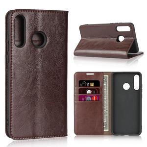 Image 1 - Natuurlijke Lederen Skin Flip Wallet Boek Telefoon Case Op Voor Huawei Honor 20 S 20 S Honor20s 2019 Global MAR LX1H 4/6 128 Gb