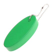 Buoyant Key Ring Tube Float Keychain For Surfing Kayak Swimming Water Sports