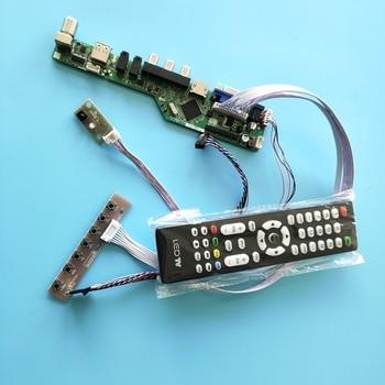 "kit for B154PW04 V6 40pin LVDS 1440X900 LCD LED Controller driver board TV AV 15.4"" VGA remote Panel Screen USB HDMI"
