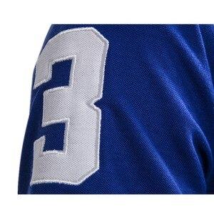 Image 5 - Рубашка поло с вышивкой в виде жирафа, 5 комплектов