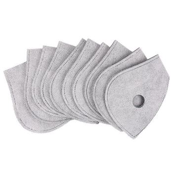 Professional Dust Proof Anti Haze Breathable Activated Carbon Filters PM 2.5 Mask Gaskets Mask Pads