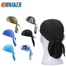 Quick Dry Pure Cycling Cap Head Scarf Summer Men Running Riding Bandana Headscarf Ciclismo Pirate Hat Hood Headband