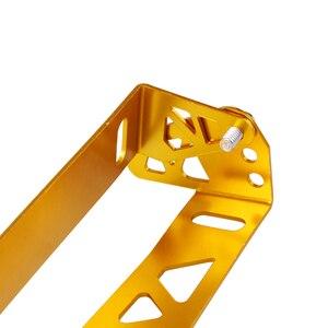 Image 3 - RASTP Universal Aluminium Auto Styling Kennzeichen Rahmen Einstellbare Racing Kennzeichen Rahmen Rahmen Tag Halter RS BTD012