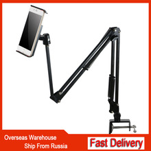 Flexible Bed Tablet Phone Stand Holder For iPad 2 3 4 mini Pro Air 3.5 to 10.6 inch 360