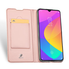 For XIAOMI Mi 9 Lite / CC9 DUX DUCIS Skin Pro Series Leather Wallet Flip Case Full Protection Steady Stand Magnetic Closure