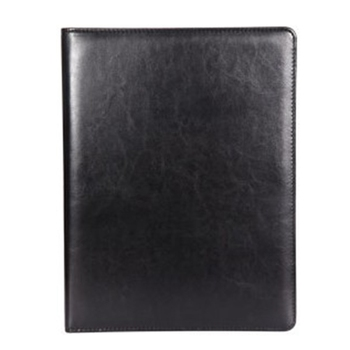 A4 Clipboard Multi-Function Filling Products Folder for Documents School Office Supplies Organizer Leather Portfolio,Black 2 Pcs фото