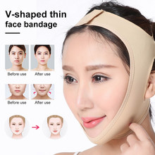 V Gezicht Vormgeven Riem Neus Shaper Facial Massager Ademend Gezicht Afslanken Cheek Belt Chin Lift Up Anti Rimpel Band(China)