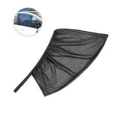 2PCS Car Curtain Mesh Anti-Mosquito Sun Shields Heat Reduction For UV Ray Heat Reduction Front Side Window Sunshade Cover yn15v00037s004 travel reduction unit sun shaft for kobelco sk200 8
