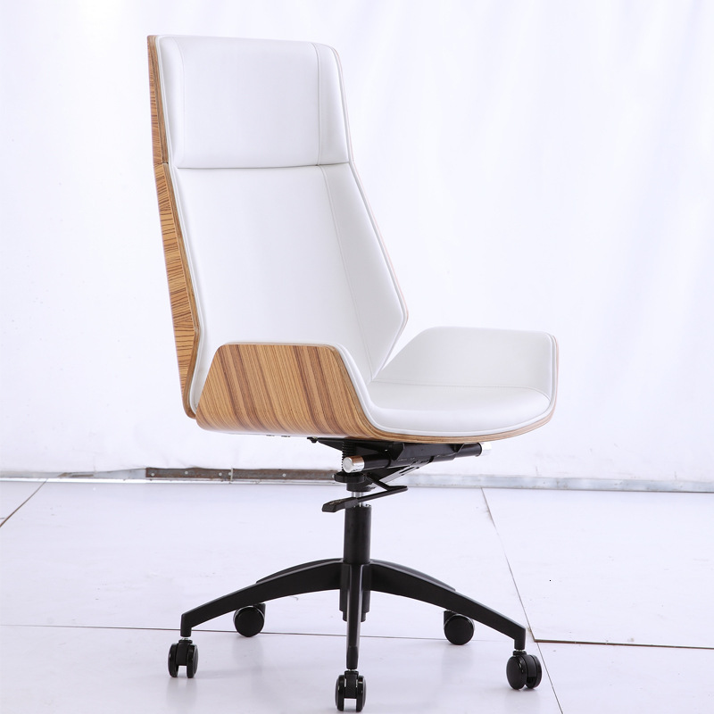Chair High Back To Work In An Office Computer Chair Household Genuine Leather Class Chair Boss Swivel Chair Meeting Chair