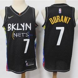 NEW 2021 NBA BKLYN Men's Basketball Jersey #7 DURANT Swing man Jersey 100% Stitched Retro NBA Men Jerseys