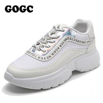 GOGC/Женская Весенняя обувь; Женская обувь на плоской подошве; Кроссовки; Женская обувь для женщин; Повседневная Вулканизированная обувь; Жен