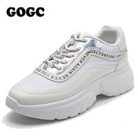 GOGC womens spring shoes women flats shoes sneakers women shoes for women Casual Vulcanize Shoes Women Platform Chunky Sneakers
